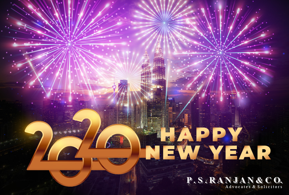 Happy New Year 2020 from P S Ranjan & Co.